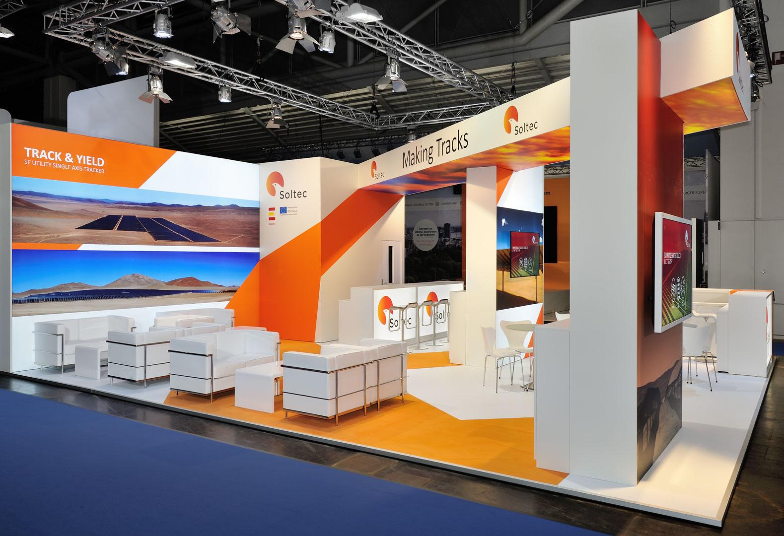 Exhibition Stand Design Hertford : Soltec intersolar münchen deutschland qm